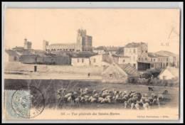 Lettre-2670 Bouches Du Rhone N°111 Blanc Saintes Maries De La Mer Vue Générale 25/5/1906 - Storia Postale