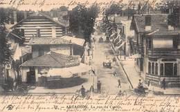 ARCACHON FRANCE~LA RUE Du CASINO~1903 J.H.B. PHOTO POSTCARD 40944 - Arcachon