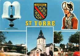 CPM 03 (Allier) Saint-Yorre - Multivues TBE - Andere Gemeenten