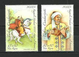 Turkey, 2008 ( 1000th Anniv. Of Kasgarlimahmut's Birth ), Set Of 2 - MNH (**) - 1921-... República