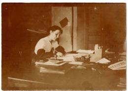 Menton 1918 Guerre 1914-1918 Hopital Complementaire N°65 -photo - Hop. Temporaire - Secrétaire - Guerre, Militaire
