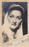SOLEDAD MONTOYA SOLEÁ-ACTRESS DANCER. AUTOGRAPH CIRCA 1930 - BLEUP - Autographes