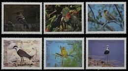 Jordanien 1987 - Mi-Nr. 1358-1363 ** - MNH - Vögel / Birds - Jordan