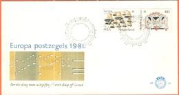 OLANDA - NEDERLAND - Paesi Bassi - 1981 - Europa Cept - 's-Gravenhage - FDC - 1981