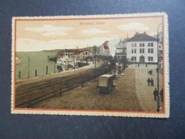19948) RORSCHACH HAFEN NON VIAGGIATA 1930 CIRCA TRENO - SG St. Gallen