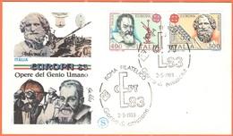 ITALIA - ITALY - ITALIE - 1983 - Europa Cept - Roma - FDC - Filagrano - Europa-CEPT