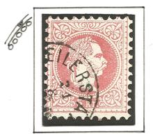 AUSTRIA. 1867. PLATE FLAW. BREAK IN MEDALLION FRAME. USED - Oblitérés