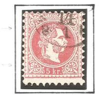 AUSTRIA. 1867. MISSING DECORATION. USED - Oblitérés