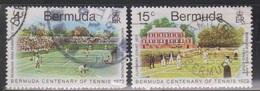 BERMUDA Scott # 304-5 Used - Centenary Of Tennis In Bermuda - Bermuda