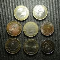 8 Bimetal Commemorative Portuguese Coins - Münzen & Banknoten