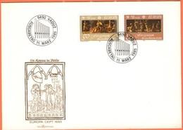LIECHTENSTEIN - 1985 - Europa Cept - FDC - Europa-CEPT