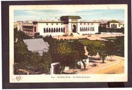 CPSM. Casablanca. Le Palais De Justice. Etat Moyen. Trace De Rouille. Photo Flandrin. - Monuments
