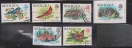 BERMUDA Scott # 365//73 Used - Birds, Fish & Butterfly - Not Full Set - Bermuda