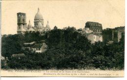 75018 PARIS - MONTMARTRE - Les Jardins De La Butte Et Le Sacré-Cœur - Le Campanile En Finition - District 18