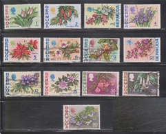 BERMUDA Scott # 255//69 Used - Flowers - Not Full Set - Bermuda