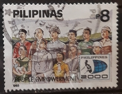 "FILIPINAS 1993 ""Philippines 2000"" (Development Plan). USADO - USED. - Filipinas"