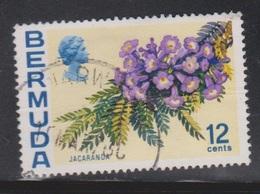 BERMUDA Scott # 263a Used - Flowers - Watermark Upright - Bermuda