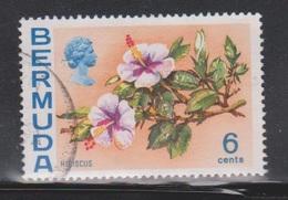 BERMUDA Scott # 260a Used - Flowers - Watermark Upright - Bermuda