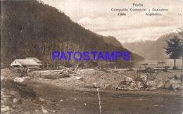 115128 CHILE ARGENTINA CAMPAÑIA COMERCIAL Y GANADERA BREAK  POSTAL POSTCARD - Cile