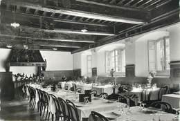 """CPSM FRANCE 74 """" Sixt , Le Restaurant De L'Hôtel De L'Abbaye"""" - Sixt-Fer-à-Cheval"""