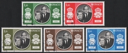 Monaco 1981 - Mi-Nr. 1465-1469 Gest / Used - Silberhochzeit - Monaco