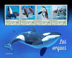 Djibouti 2019  Fauna  Orcas , Whales S201903 - Djibouti (1977-...)