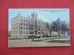 Erie County Jail & Municipal Building  Buffalo NY   Ref  3458 - Prison