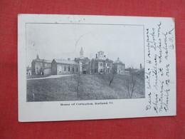 House Of Correction  Rutland Vt ---------top Has 5 Pin Holes    Ref  3458 - Gevangenis
