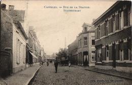 1 Postkaart Kapellen Cappellen  Rue De La Station Statiestraat C1907  Foto Marco Marcovici - Kapellen