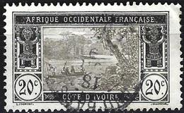 Ivory Coast 1913 - Mi 47 - YT 47 ( Ebrié Lagoon ) - Elfenbeinküste (1892-1944)