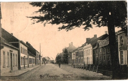 1 Postkaart Kapellen Cappellen   Dorpstraat  Rue Du Village C1919 - Kapellen