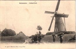 1 Postkaart Kalmphout Calmpthout Heidemolen Uitgever F.Hoelen N°405 - Kalmthout