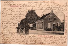 1 Postkaart Kalmphout Calmpthout  Omstreken V H Station Restaurant Pepinières C1903 - Kalmthout