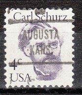 USA Precancel Vorausentwertung Preo, Locals Kansas, Augusta 721 - Etats-Unis