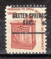 USA Precancel Vorausentwertung Preo, Locals Kansas, Baxter Springs 704 - Vereinigte Staaten