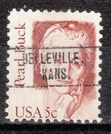 USA Precancel Vorausentwertung Preo, Locals Kansas, Belleville 750 - Etats-Unis