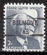 USA Precancel Vorausentwertung Preo, Locals Kansas, Belmont 828 - Vereinigte Staaten
