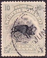 NORTH BORNEO 1909 10 Cents Greyish-Blue SG170 Used - North Borneo (...-1963)