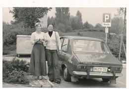 OLD CAR - DACIA 1300 Renault Licence Auto Automobilia,Women  Old Photo - Cars