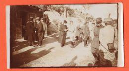SUN000 Rare Photo Guerre Front ORIENT 1917 Premier Ministre Grec VENIZELOS Général FRANCHET D' ESPEREY Colonel CURIE - War 1914-18
