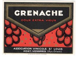 19289 - GRENACHE - Publicités