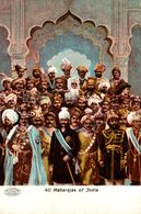 40 MAHARAJAS OF INDIA  INDIEN INDIA INDE - Inde