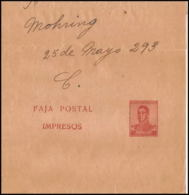 4197/ Argentine (Argentina) Entier Stationery Bande Pour Journal Newspapers Wrapper N°41 1917 - Ganzsachen