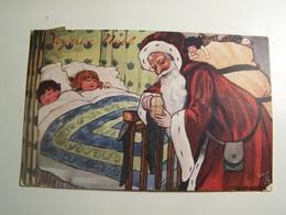 "Aa009 JOYEUX NOEL PERE NOEL  ""OILETTE"" 1905 - Christmas"