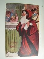 "Aa009 JOYEUX NOEL PERE NOEL  ""OILETTE"" - Christmas"