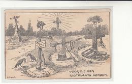 Netherlands / W.W.I. Military Mail / Anti German Propaganda Postcards - Netherlands