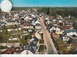 18 - Très Belle Carte Postale Semi Moderne De   NEUVY SUR BARAGEON   Vue Aérienne - France
