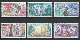 MONACO 1980 . Série N°s 1235 à 1240 . Neufs ** (MNH) - Monaco
