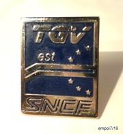 Pin's  SNCF - TGV Est - Europe - TGV