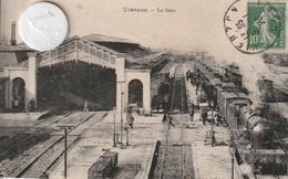 18 - Très Belle Carte Postale Ancienne  De  VIERZON   La Gare - Vierzon
